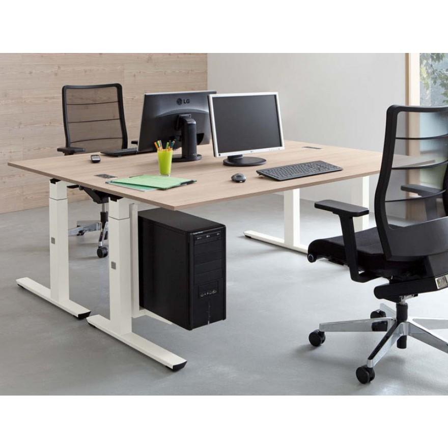 Palmberg crew schreibtisch 100 x 80 200 cm for Schreibtisch breite 80 cm