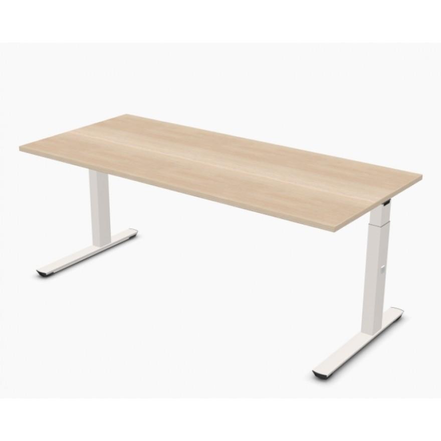 Schreibtisch palmberg crew 180 x 80 x 65 86 cm for Schreibtisch 85 cm hoch