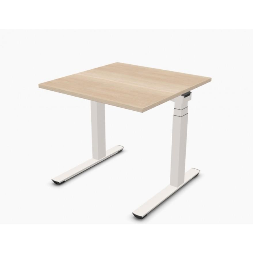 palmberg crew elektro sitz stehtisch 80 x 80 x 65 125 cm. Black Bedroom Furniture Sets. Home Design Ideas