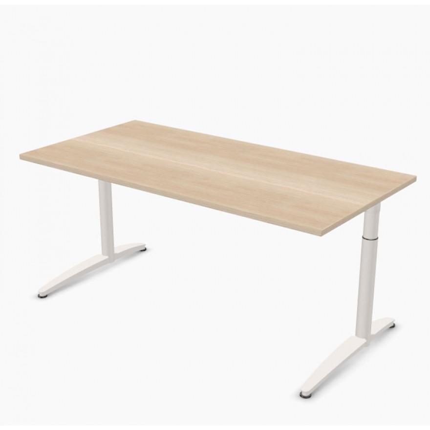 Schreibtisch palmberg caldo 160 x 80 x 65 85 cm for Schreibtisch 85 cm hoch