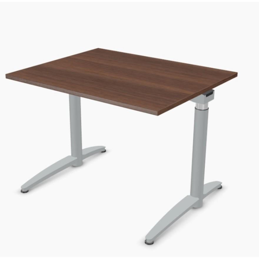 steh sitz tisch palmberg caldo elektrisch 100 x 80 cm. Black Bedroom Furniture Sets. Home Design Ideas