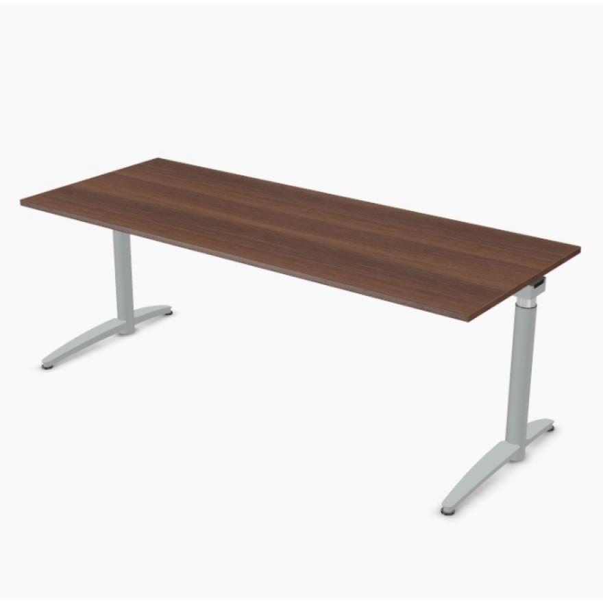 steh sitz tisch palmberg caldo elektrisch 200 x 80 cm. Black Bedroom Furniture Sets. Home Design Ideas