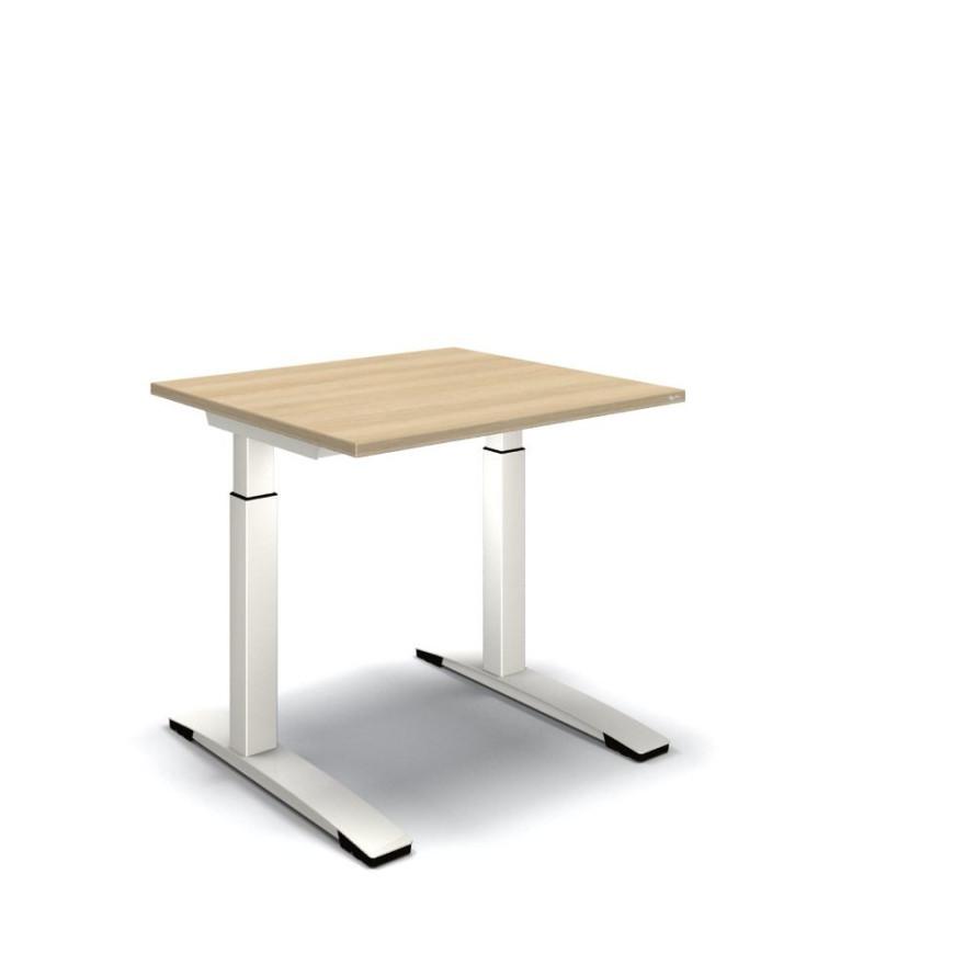 Oka jump schreibtisch 80 x 80 x 62 85 cm for Schreibtisch 70 breit