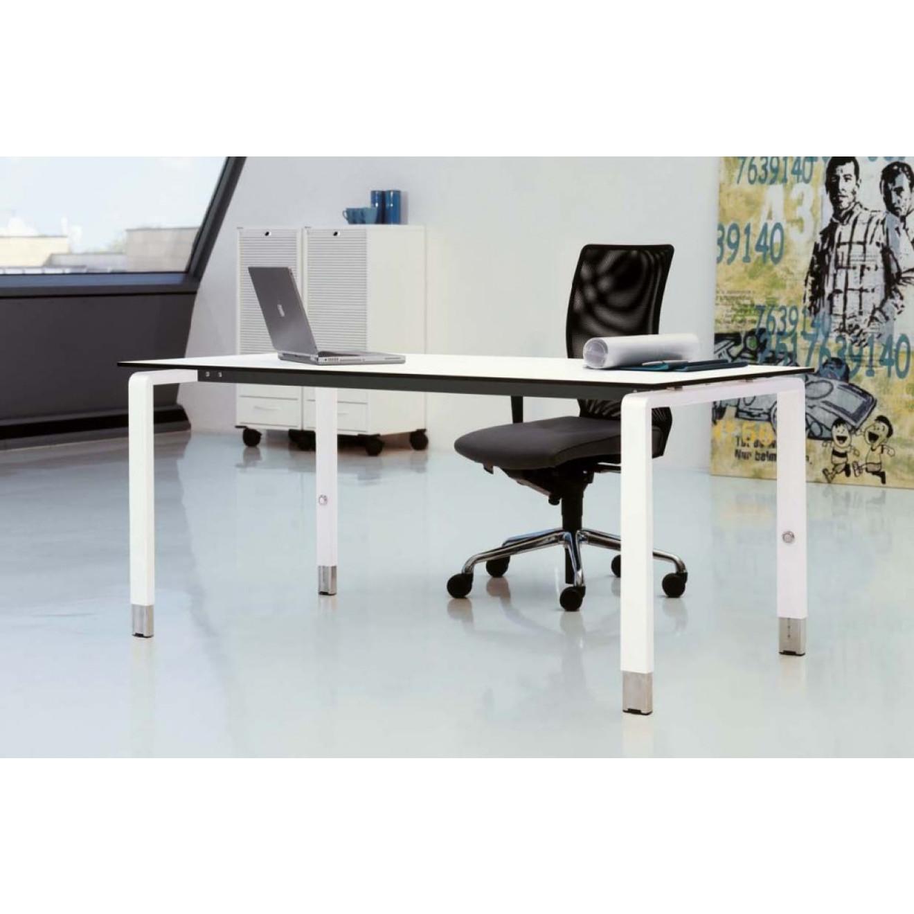 palmberg pensum schreibtisch 120 140 160 180 200. Black Bedroom Furniture Sets. Home Design Ideas