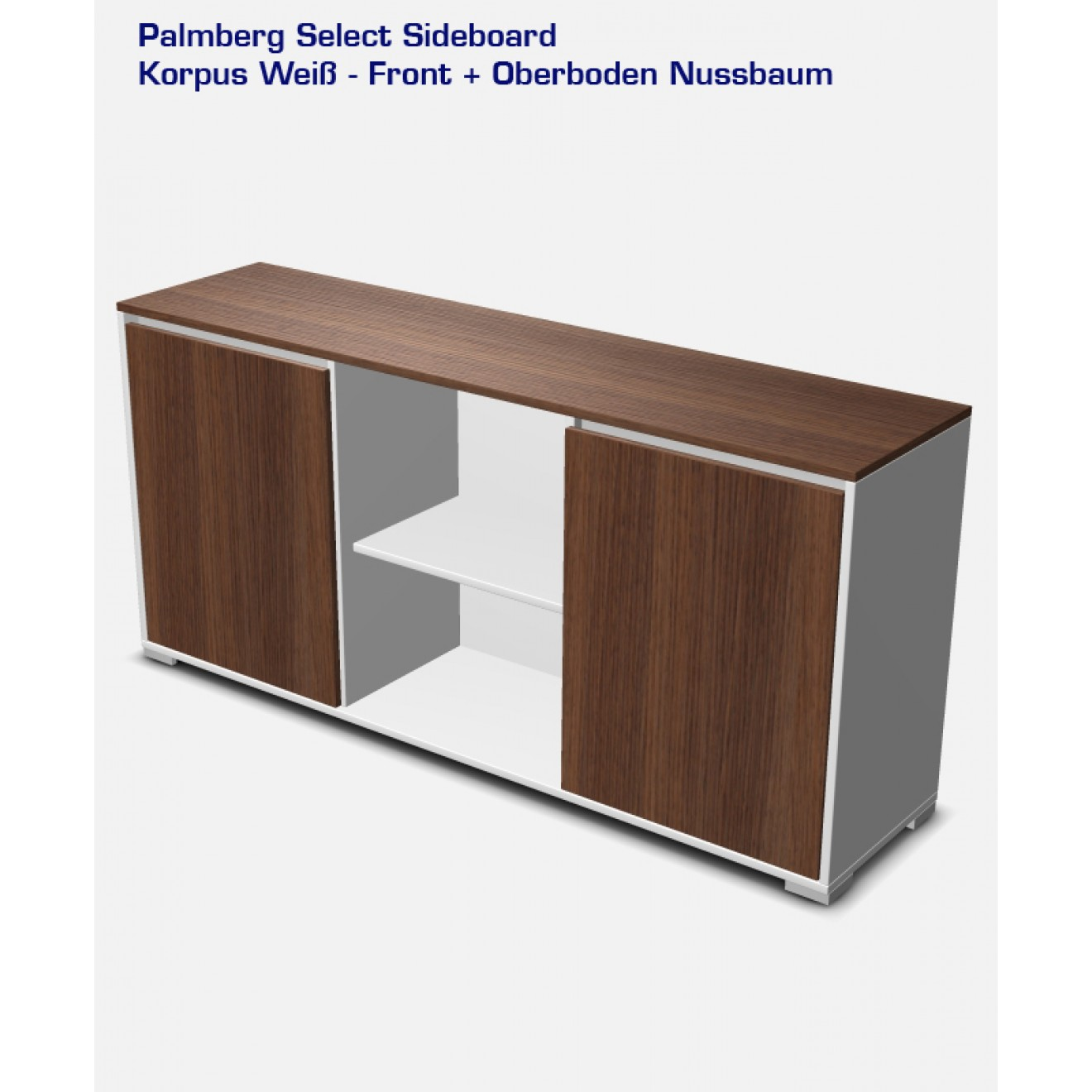 Palmberg Select Sideboard 84 x 176 cm  offenes-Fach  - SE M2 1760