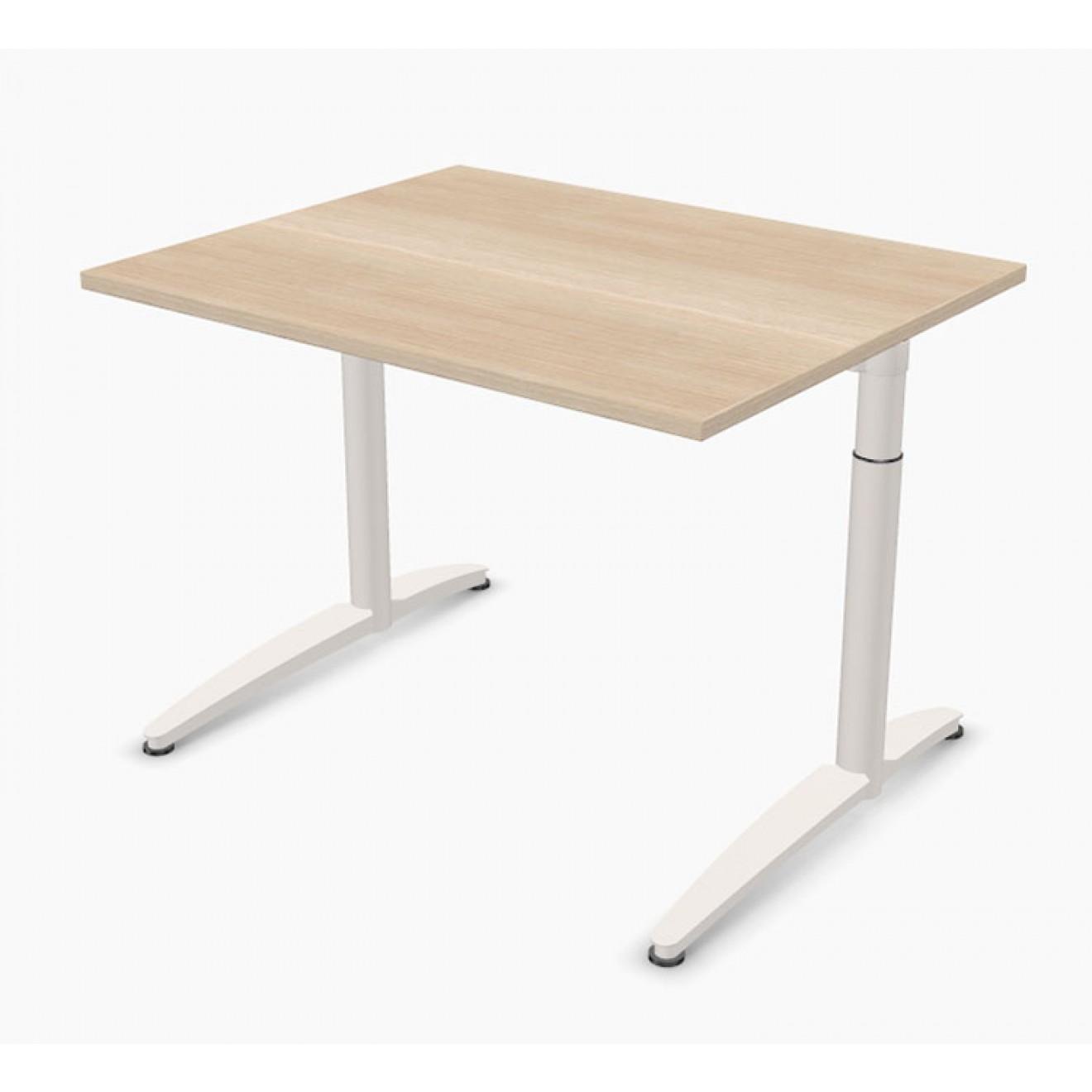 Schreibtisch palmberg caldo 100 x 80 x 65 85 cm for Schreibtisch 85 cm hoch