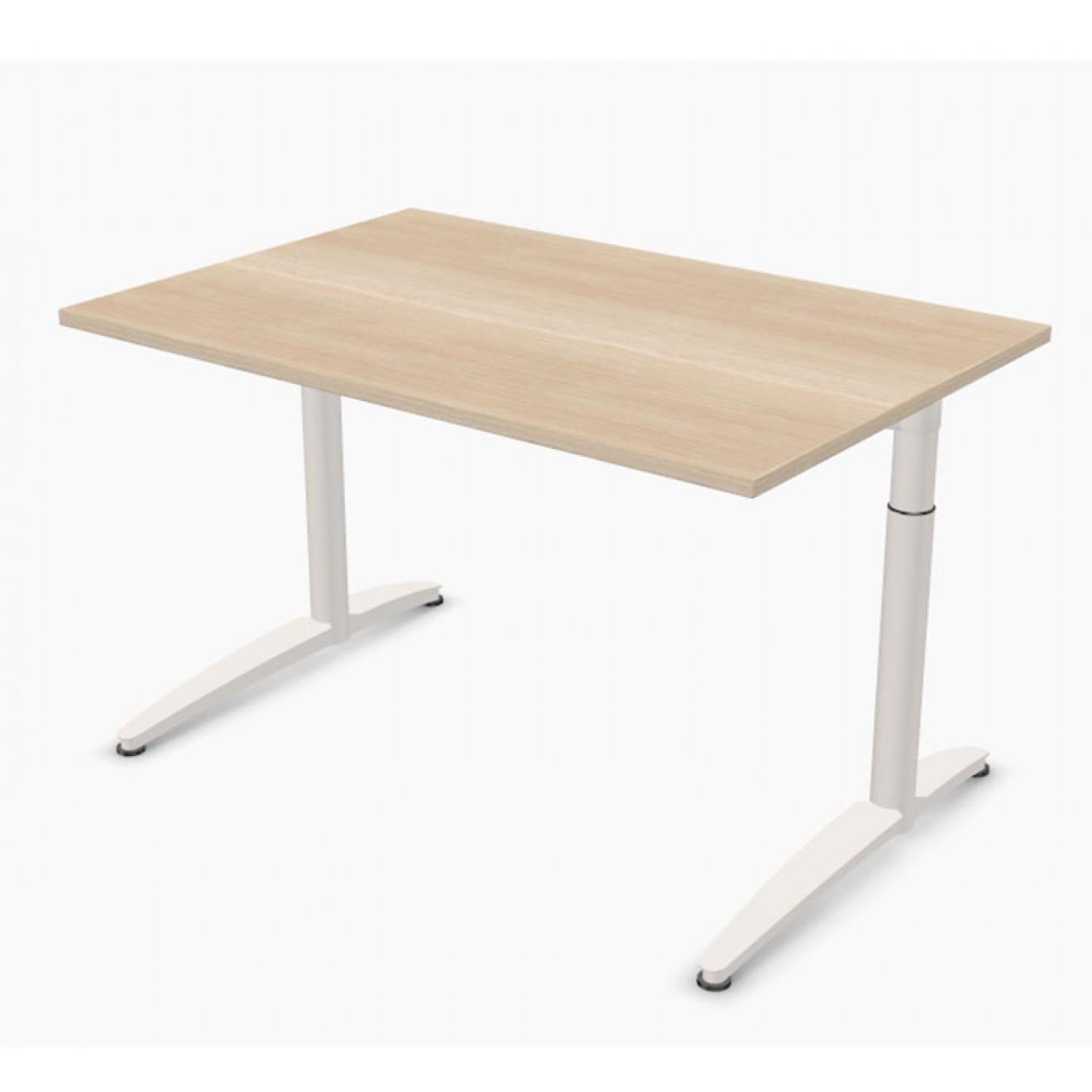 Schreibtisch palmberg caldo 120 x 80 x 65 85 cm for Schreibtisch 85 cm hoch