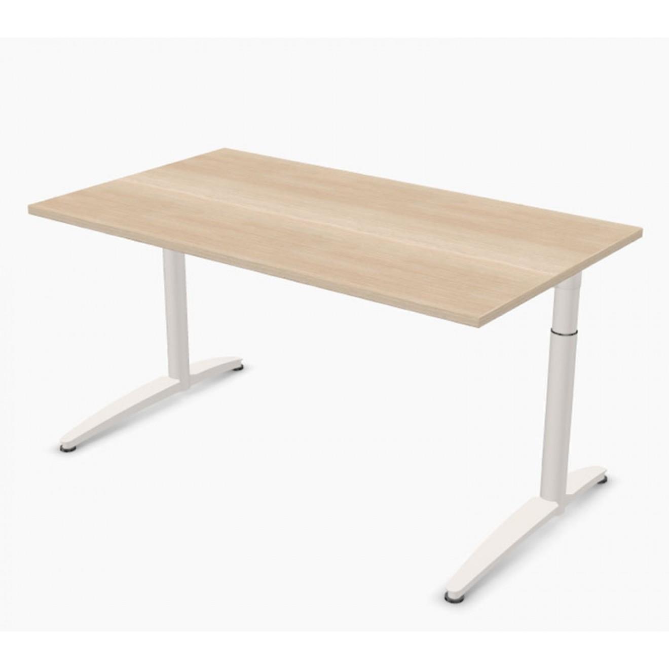 Schreibtisch palmberg caldo 140 x 80 x 65 85 cm for Schreibtisch 85 cm hoch