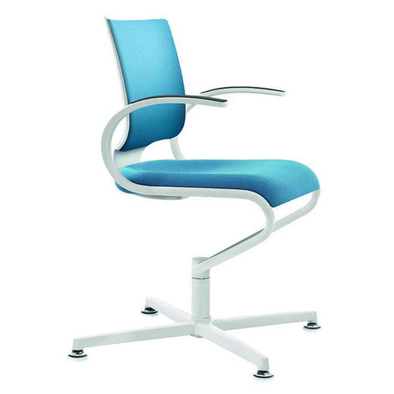 dauphin konferenzstuhl it 5409 white edition. Black Bedroom Furniture Sets. Home Design Ideas
