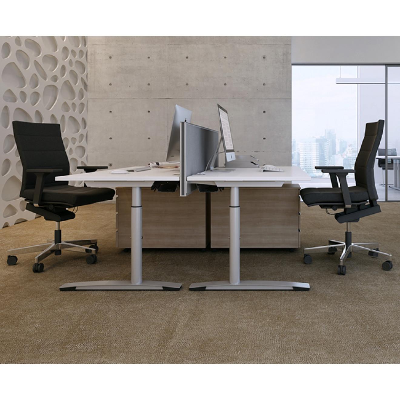 oka jump schreibtisch 80 220 cm. Black Bedroom Furniture Sets. Home Design Ideas